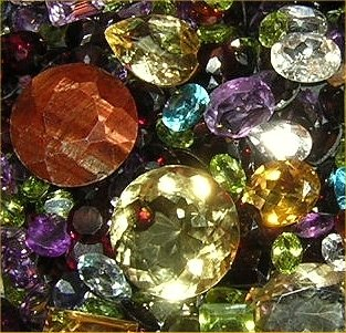 Wholesale Lot of 250 carats natural faceted Gemstones