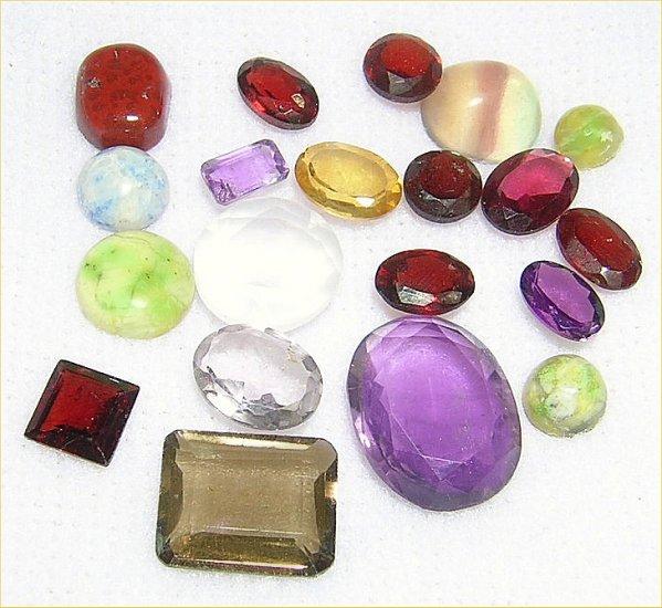Wholesale Lot of 10 carats natural mixed Gemstones