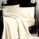 SHEET SET 100%EGYPTIAN COTTON QUEEN 600 TC SATIN IVORY SOLID