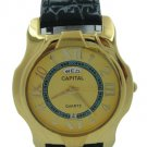Capital brand leather strap men Watch WA720