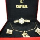 Capital brand set women Watch WA284n
