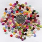 1000+ pieces 4mm tiny doll buttons (.1575 inches)