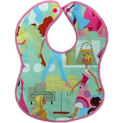 Vintage Kid's Fashion Girl Bib