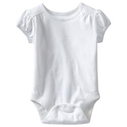 Old Navy's Short-Sleeved Bodysuit - White