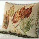 18x14 MAPLE LEAF Aubusson Pillow Shabby French Chic Sofa Chair Bed Cushion Cover