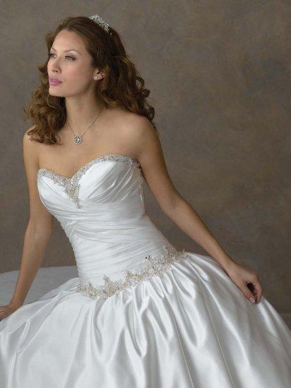 Futagodress BW0010 Embroidered Strapless Wedding Dress