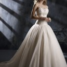 Gorgeous Sweetheart Strapless Ball Gown Wedding Dress WN0129