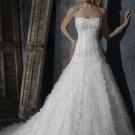 Gorgeous Sweetheart Strapless A-line Wedding Dress WN0387