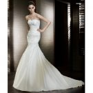 Gorgeous Strapless Mermaid Style Wedding Dress DS0001
