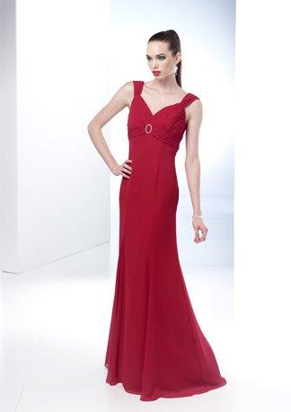 Gorgeous Sleeveless Empire Wedding Dress AI0044