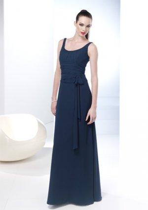 Scoop Neckline Sleeveless V-neck Wedding Dress AI0046