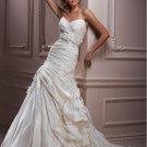 Gorgeous Sweetheart Strapless Empire A-line Wedding Dress WM0020