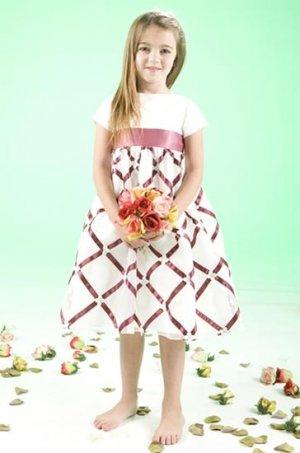Cute and Lovely T-length Wedding Dress Girl Dress VG0004