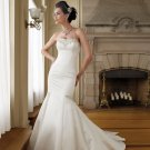 MC0027 Stunning Mermaid Satin Wedding Dress