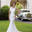 MC1004 Elegant Mermaid Lace Wedding Dress