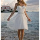 Wedding Dresses/ Wedding Gowns -- Stunning Short Bridal Gown WS0028