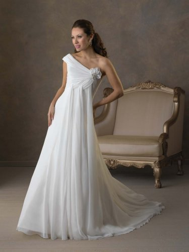Futago Dress BW0018 Gorgeous One-shoulder Wedding Dress