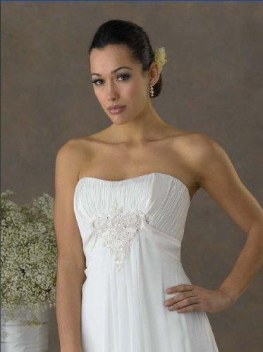 Futago Dress BW0017 Strapless Chiffon Wedding Dress