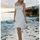 Wedding Dresses/ Wedding Gowns -- Stunning Short Bridal Gown WS0029
