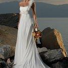 Wedding Dresses/ Wedding Gowns -- Stunning Chiffon Bridal Gown WB0047
