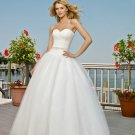 Wedding Dresses/ Wedding Gowns -- Strapless Beach Bridal Gown WB0029