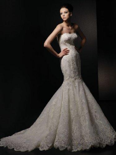 Wedding Dresses/ Wedding Gowns -- Stunning Mermaid Bridal Gown VA0034