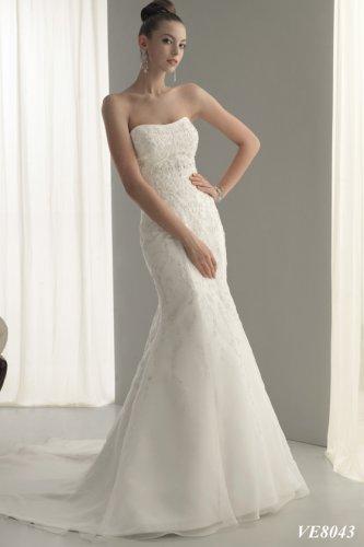 Wedding Dresses/ Wedding Gowns -- Mermaid Organza Bridal Gown VE0012