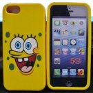 Spongebob Soft silicone Iphone 5/5S Cover Case