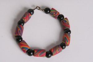 Rainbow Swirled Bracelet