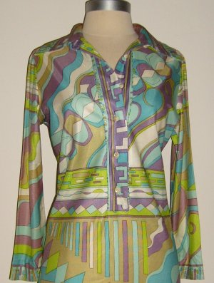 The Suburbia Graphic Print Shirtdress: Size 6