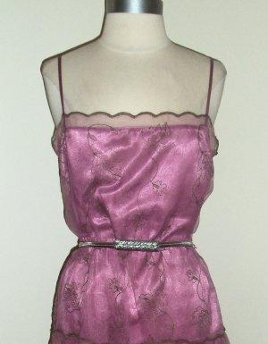 Betsy Johnson Pink Spaghetti Strap Dress Size 12