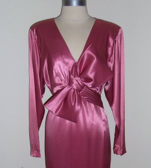 1980s Vintage Evening Gown by Morton Myles for the Warrens