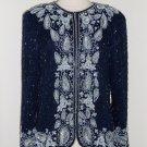 Laurence Kazar Embroidered Vintage Beaded Trophy Jacket