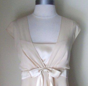 Liz Claiborne Beige Layered Dress Size 14