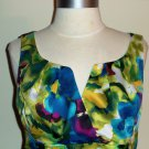 Ronni Nicole Watercolor Floral Print Dress Size 12