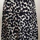 Banana Republic Dot Print Pleated Skirt Size 2 (XS)