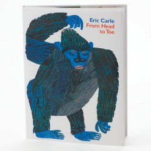 """Kohl's Cares for Kids Eric Carle Book """"From Head to Toe"""""""