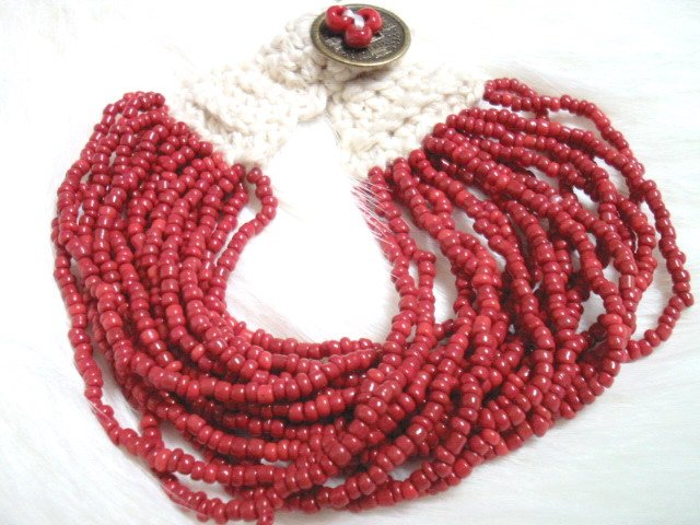 BA121 TIBETAN JEWELRY RED BEADS BRACELET(FREE SHIPPING