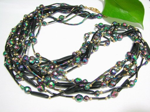 free shipping ~ NB1004 FASHION JEWELRY BEADS  long NECKLACE 30 inches