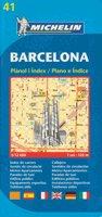 Michelin Barcelona Street Map (Michelin Map) [Folded Map] (Paperback)