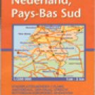 Michelin Map No. 532 Southern Netherlands (Benelux Regional) Scale 1:200,000