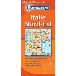 Italy North East Map 562 (Michelin Maps)