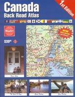 MapArt Canada Back Road Atlas