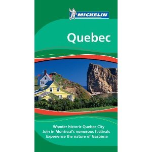 Michelin Green Guide Quebec