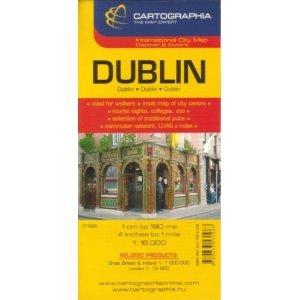 Dublin Map by Cartographia  Ireland