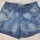 Blue Jean Shorts w/Butterflies - size  10