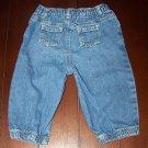 Good condition! blue jeans - size 6/9 mos. - $0.75 - Unique Thrift - (SL)