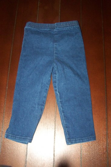 Blue Jeans made by Okie Dokie - size 2T - $1.50 - Unique Thrift - (k4)