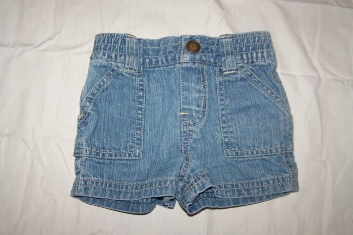 Jean Shorts made by Circo - size 9 mos. - $0.75 - (K4)