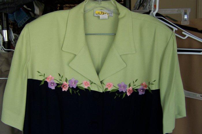 Dressbarn - Dress size 20w - dry cleaned - (CL)